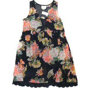Anthropologie Maeve Violetta Babydoll Dress